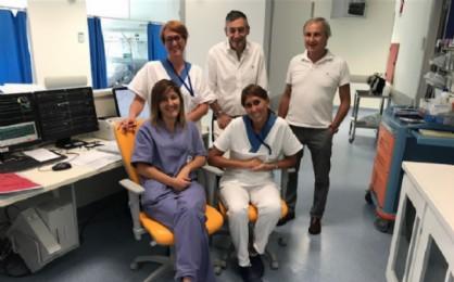 Vittorio Barazzotto nell'ospedale biellese