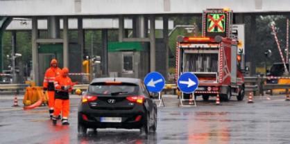 Chiusa l'entrata di Udine Sud in A23. 2 km di coda in entrata al Lisert