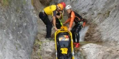 Cade in una forra: escursionista muore sul colpo