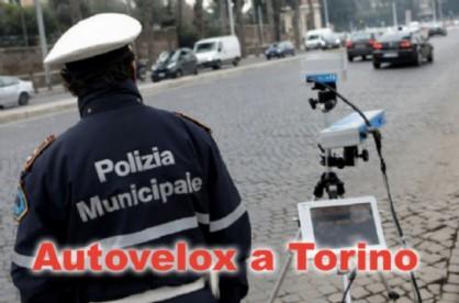 Le postazioni autovelox di questa settimana a Torino
