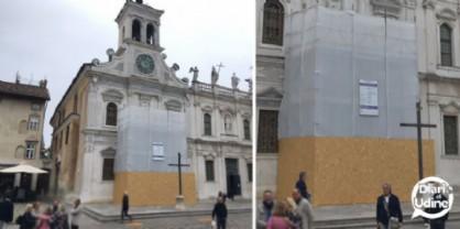 Al via il restauro del balcone della chiesa di San Giacomo Apostolo