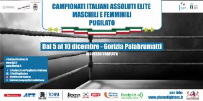 Annunciati i Campionati Italiani Assoluti di Pugilato Olimpico, si terranno al Palabrumatti di Gorizia