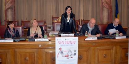 La Provincia insieme al Tavagnacco per dire no alla violenza sulle donne