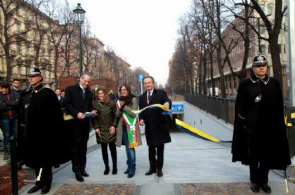 Inaugurazione parcheggio interrato di corso Galileo Ferraris