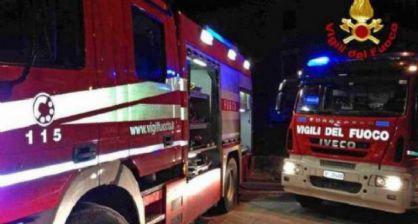 Incendio a Castellamonte
