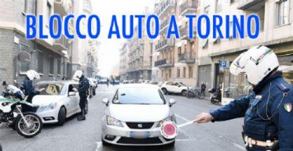 Blocco delle auto a Torino domenica 17 dicembre