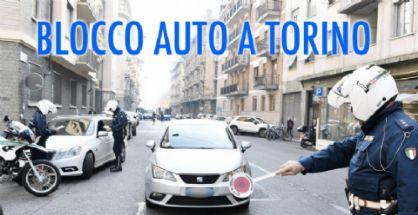 Confermato il blocco auto a Torino