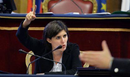 Chiara Appendino in Consiglio comunale