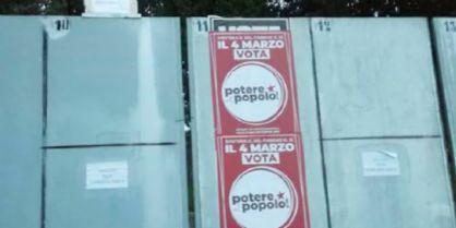 Coperti i manifesti di Forza Nuova e di Fiamma Tricolore a Tavagnacco