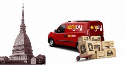 Il nuovo servizio di van sharing Enjoy