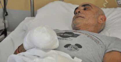 Roberto Zanda in ospedale