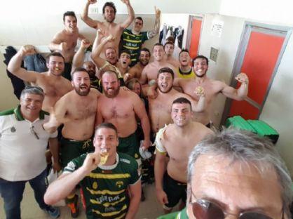 Selfie dopo la vittoria con Piacenza