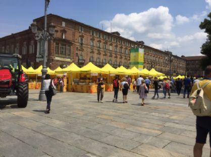 L'evento in piazza Castello