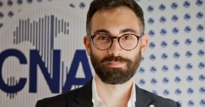 Andrea Valentini, presidente del gruppo giovani del Cna di Biella