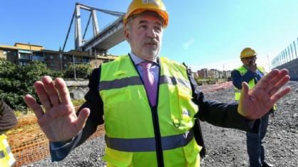 Il sindaco di Genova e commissario alla ricostruzione del ponte Morandi, Marco Bucci