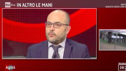 L'imprenditore e commentatore de La Verità Fabio Dragoni