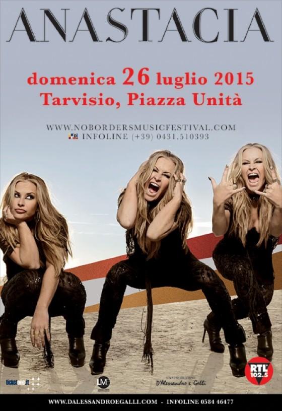 La locandina del concerto previsto a Tarvisio