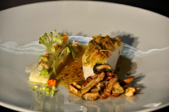 Il piatto a base di merluzzo di Riccardo Bassetti