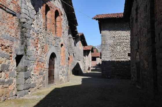 Gli interni del Borgo, perfettamente conservati