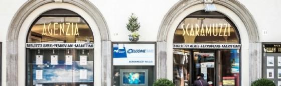 L'ingresso dell'agenzia Scaramuzzi