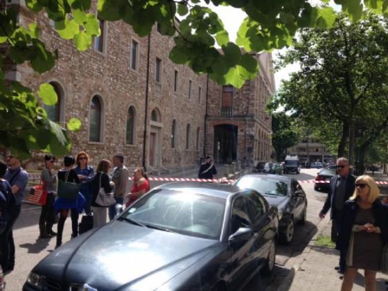 Evacuato il Tribunale di Udine