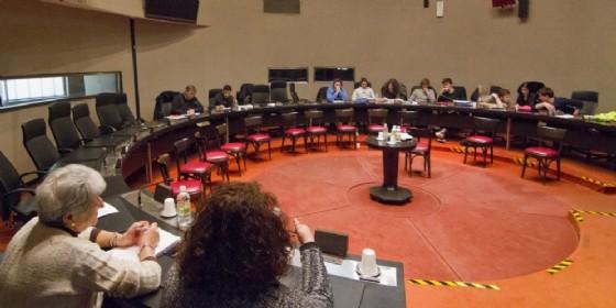 L'incontro tra amministratori provinciali e studenti