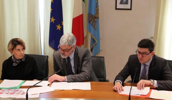 La presentazione di Puksic e Panontin (© Diario di Trieste)