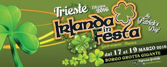 L'Irlanda arriva a Trieste