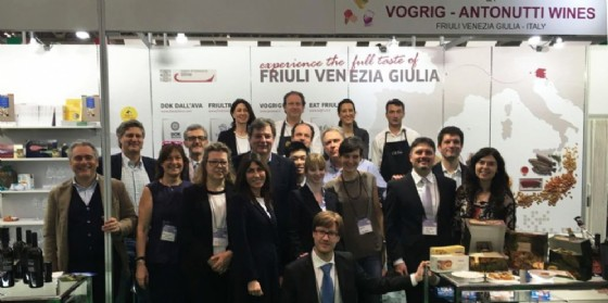 Il gruppo in trasferta con la Cciaa di Udine (© Ufficio stampa Cciaa)
