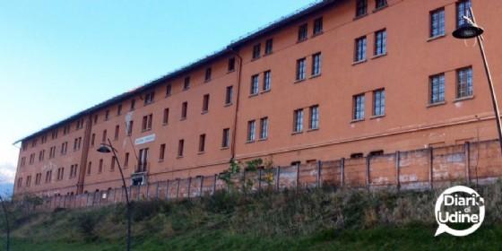 L'ex caserma La Marmora di Tarvisio (© Diario di Udine)