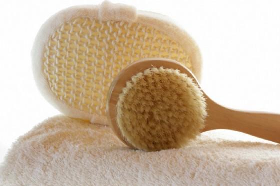 Dry Body brushing (© Gaby Fitz | Shutterstock.com)