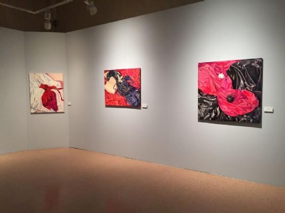 Alcune delle opere in mostra