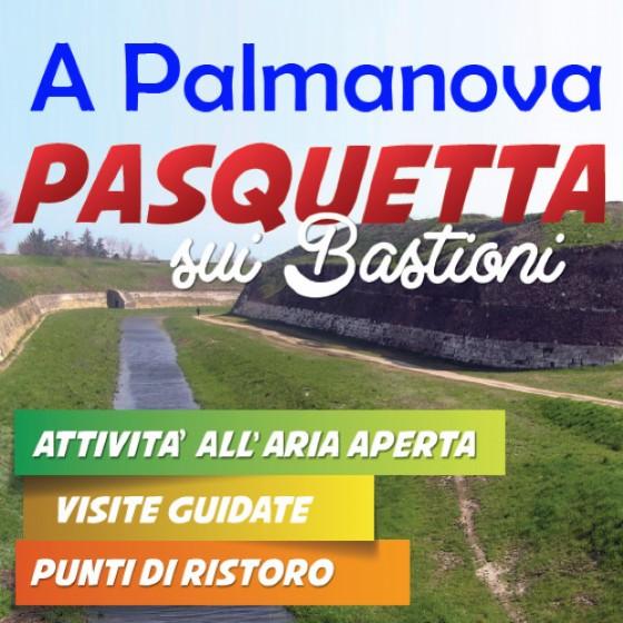 Pasquetta sui Bastioni a Palmanova (© Ufficio stampa Comune di Palmanova)