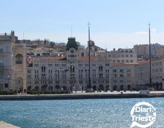 Una splendida immagine di piazza Unità a Trieste