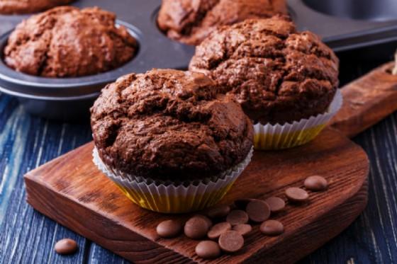 Muffin con uova di pasqua