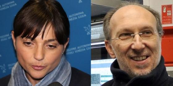 Debora Serracchiani e Riccardo Riccardi (© Diario di Udine)