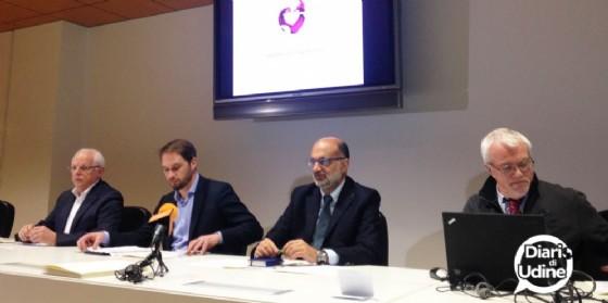 La presentazione nella sede udinese della Regione (© Diario di Udine)