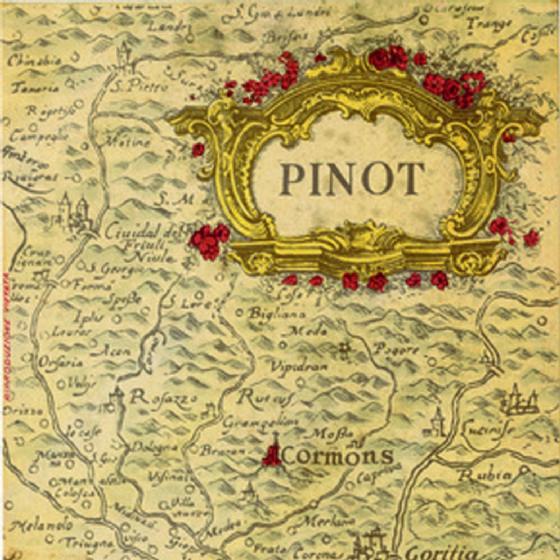 La 'carta geografica' di Livio Felluga (© Livio Felluga)