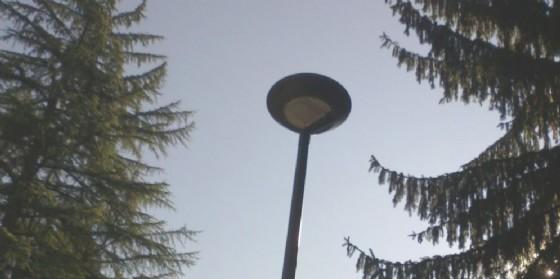 Un lampione a Led (© Comune di Udine)