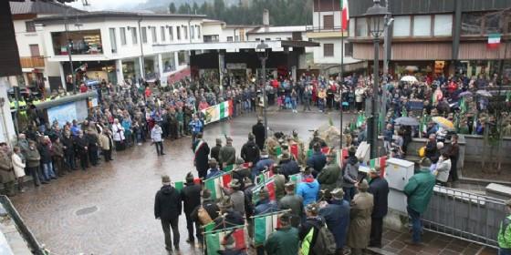 La partecipazione alla cerimonia organizzata a Tarvisio (© Attisani)