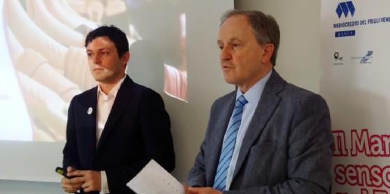 I protagonisti dell'incontro sul marketing sensoriale (© Confcommercio)