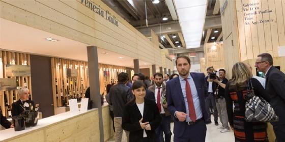 La presidente Serracchiani al Vinitaly (© Regione Friuli Venezia Giulia)