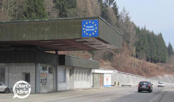 Il confine di Coccau (© Diario di Udine)