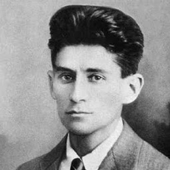Franz Kafka in una foto del 1917 (© Wikipedia)