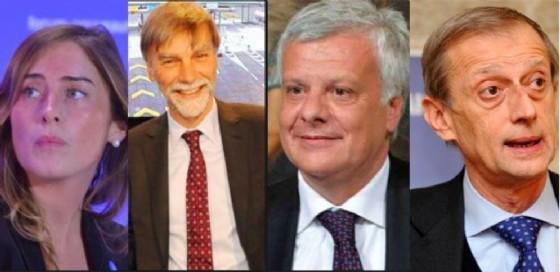 Boschi, Galletti, Del Rio e Fassino