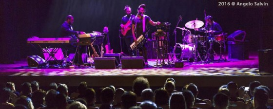 Robert Glasper durante il suo concerto di Udine (© Angelo Salvin)