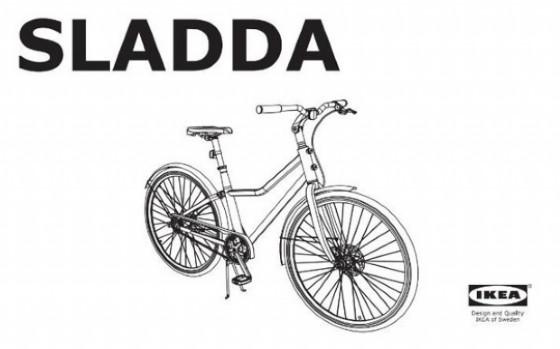 Ikea lancia Sladda, la bici leggera, senza catena e componibile