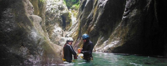 Il Canyoning Rio Pielungo (© Visitait)