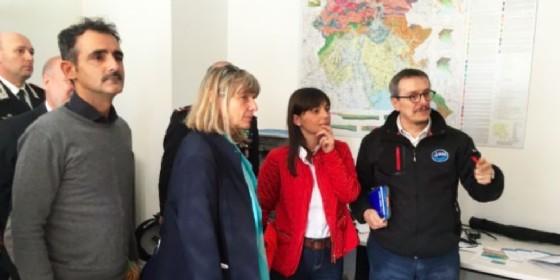 La presentazione dei nuovi spazi del Centro ricerche sismologiche (© Regione Friuli Venezia Giulia)