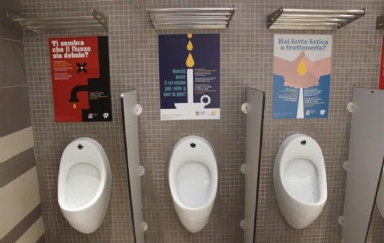 Un esempio di toilet advertising di Bulsara
